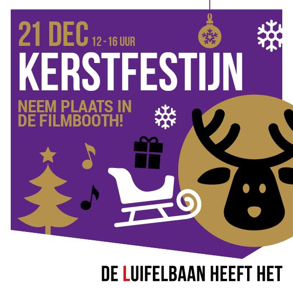 Kerstfestijn bij de Luifelbaan